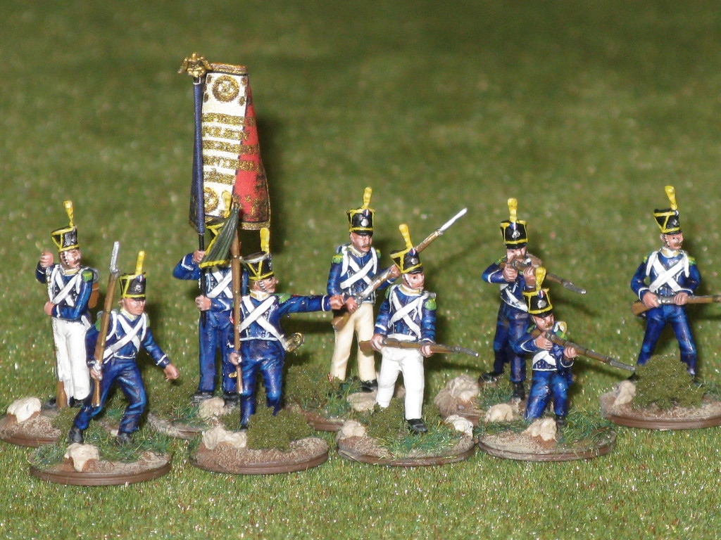 Fanteria leggera francese - French light infantry