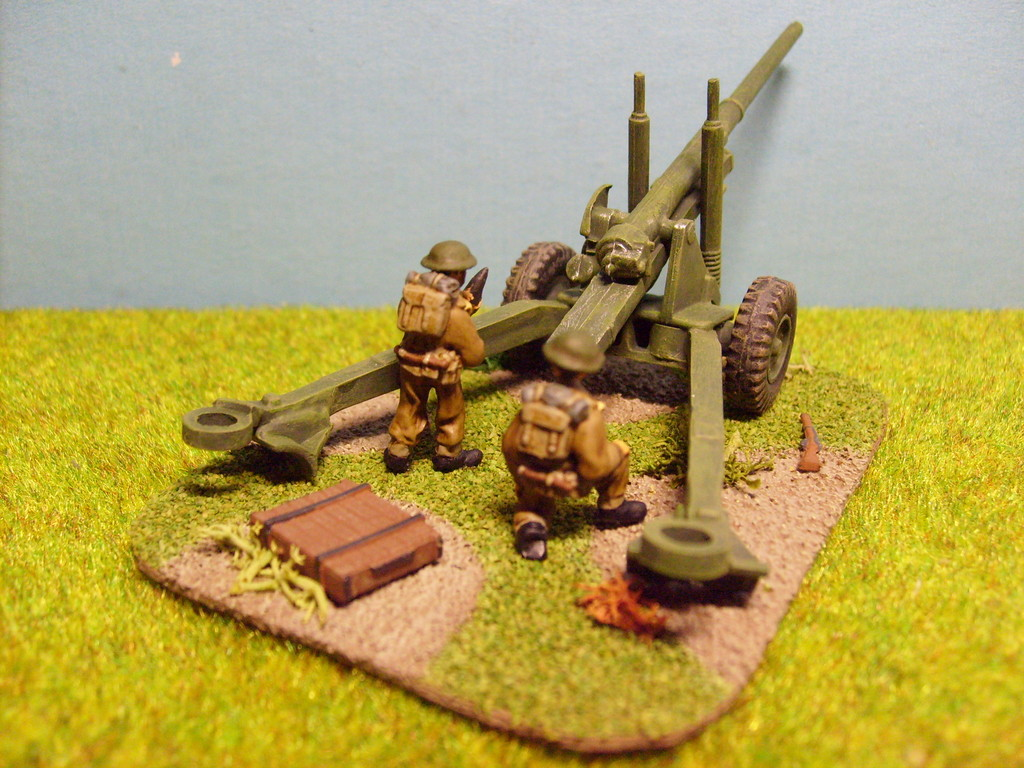 5,5 pdr (gun airfix, crew SHQ)