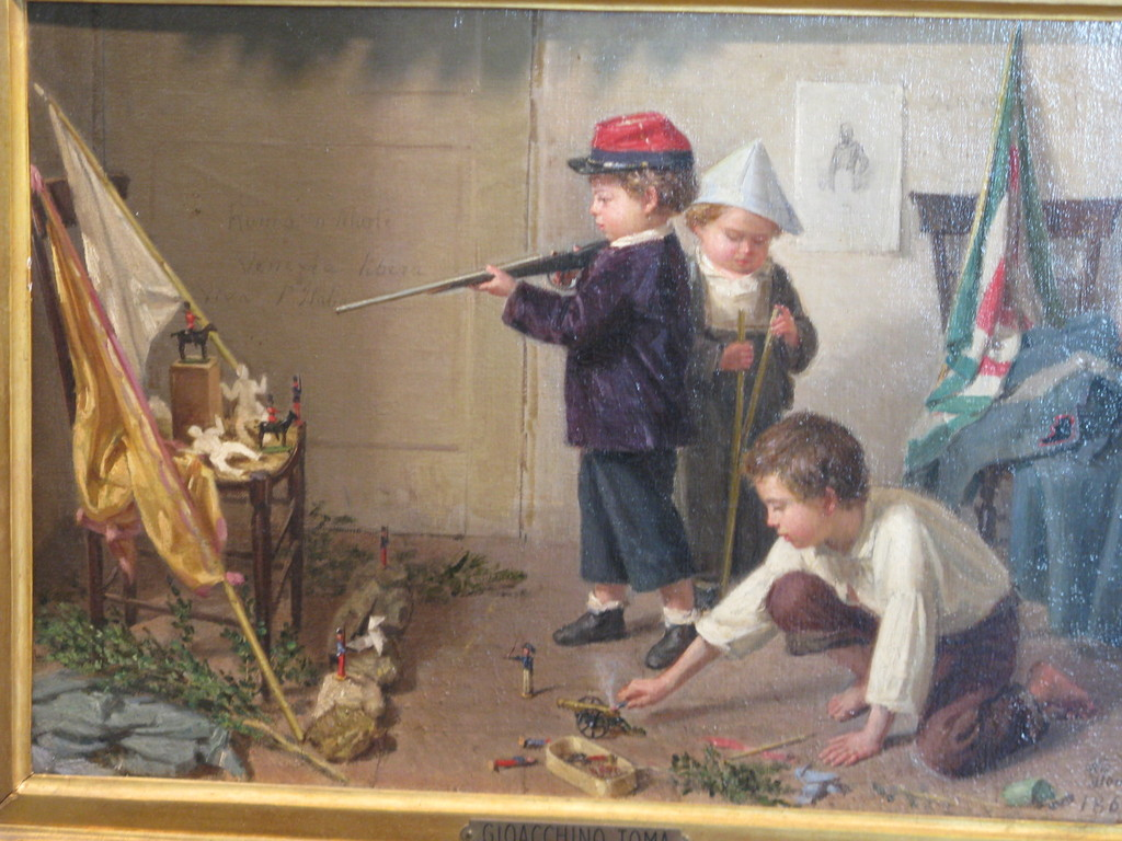"Giacchino Toma, ""Piccoli patrioti"", 1862"