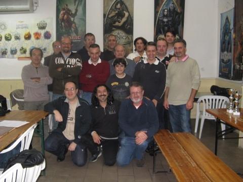 I partecipanti al torneo.