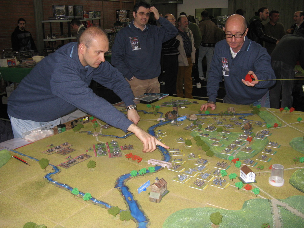 La battaglia di Ligny, scenario in 6 mm per il regolamento Grande Armée