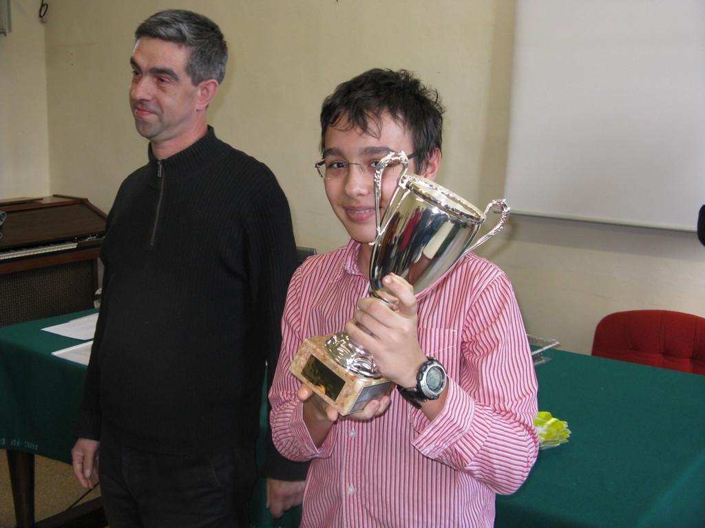 1° classificato e più giovane vincitore di un torneo di DBA: Simone
