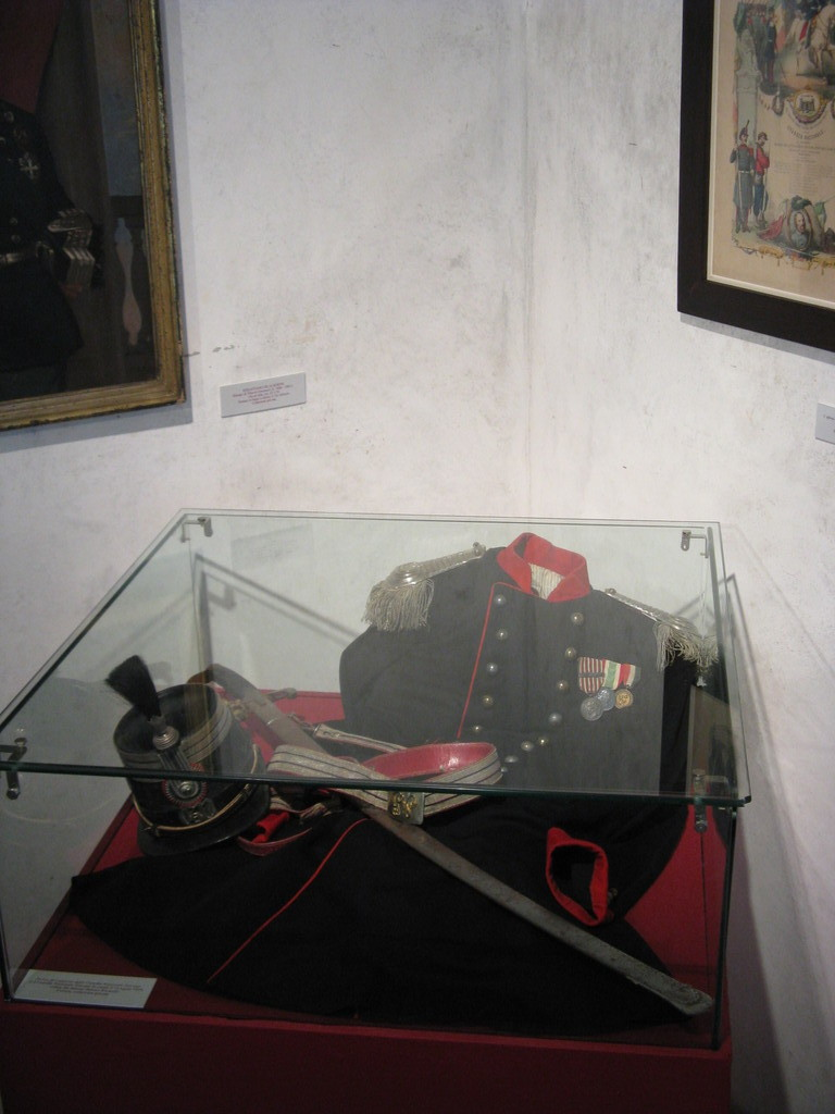 Uniforme da capitano della guardia nazionale 1859 - National Guard captain uniform 1859.