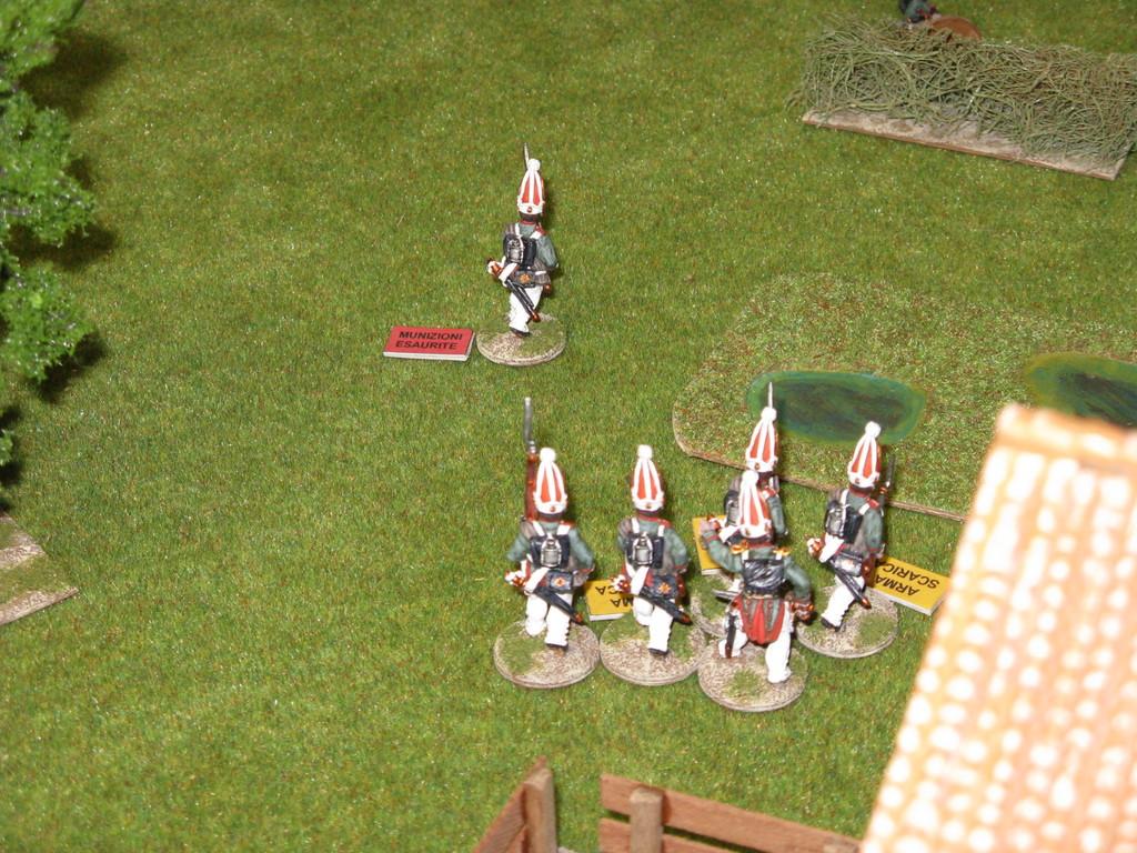 La partita è finita con una netta vittoria Anglo-Russa.
