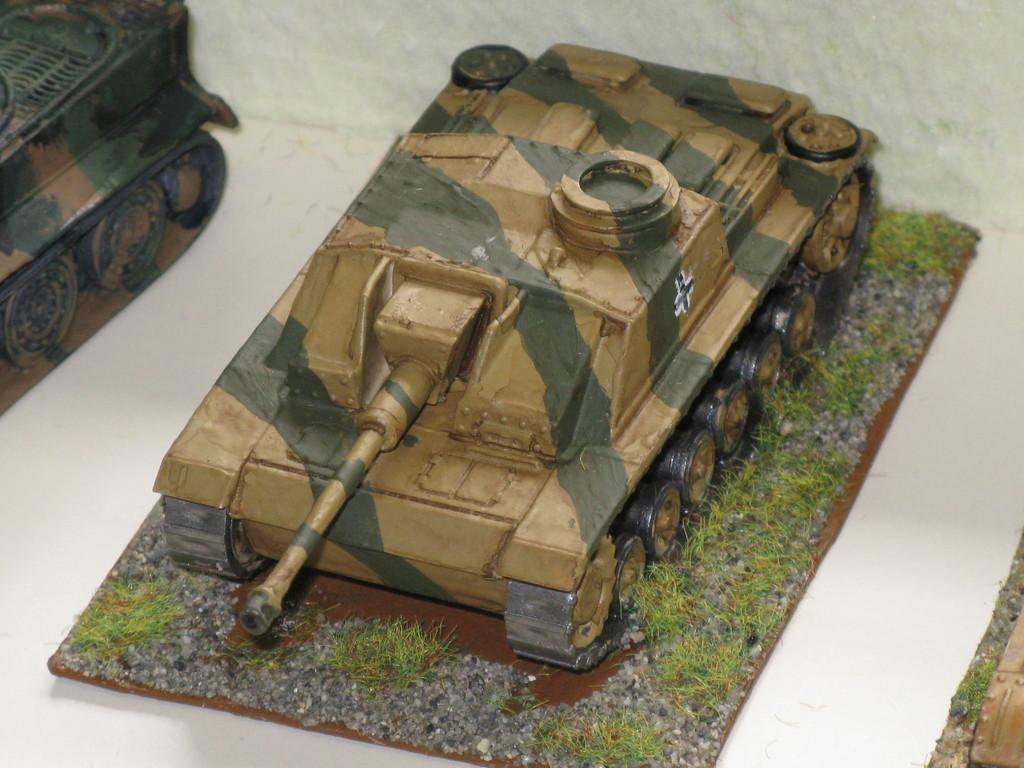 Cannone d'assalto tedesco StuG III Ausf F.