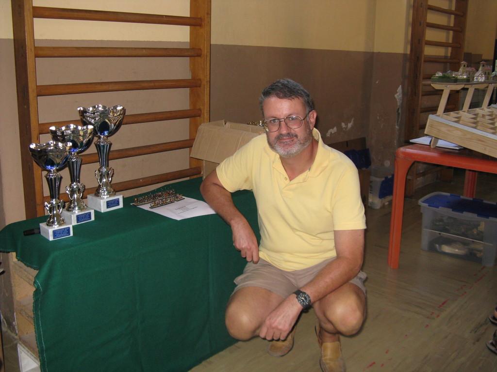 Il vincitore dell'esercito di DBA ad estrazione - Roberto Bagna