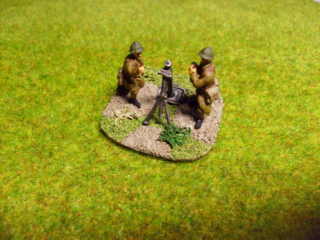 Mortaio da 81 mm. - 81 mm. mortar (SHQ)