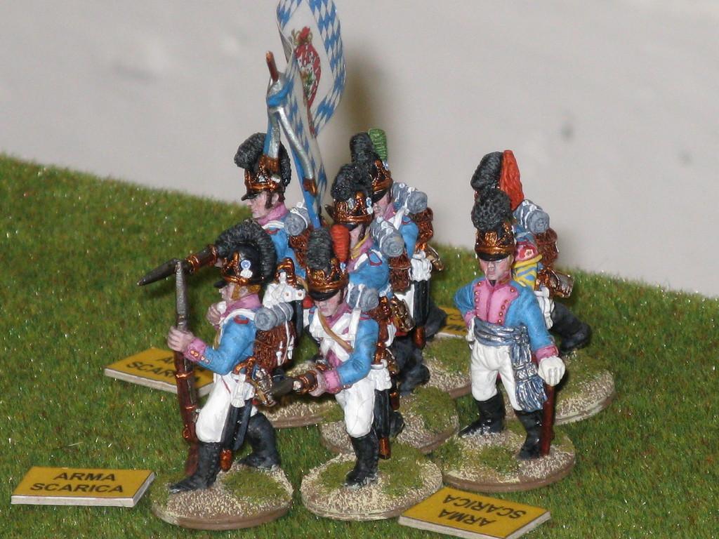 I bavaresi superano il test di morale grazie alla presenza rassicurante della bandiera.