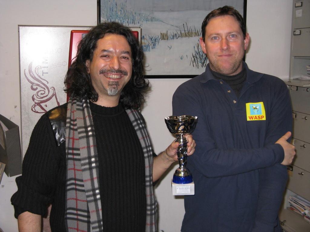 Primo classificato: Marco Gasbarri