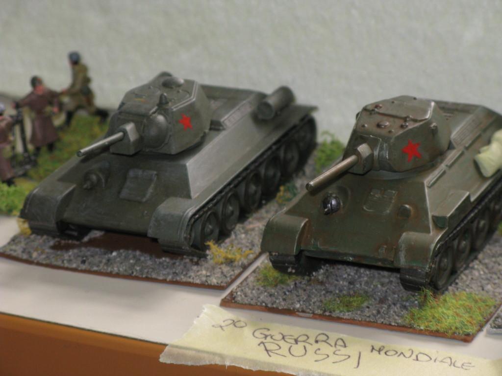 Carri russi T 34.