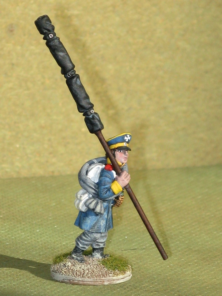 Silesian Landwehr Infantry Standardbearer.