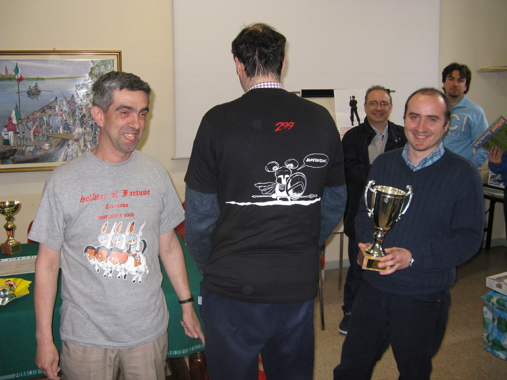 "Miglior squadra classificata ""Soldier of Fortune"" con Beccari... ""retro""."
