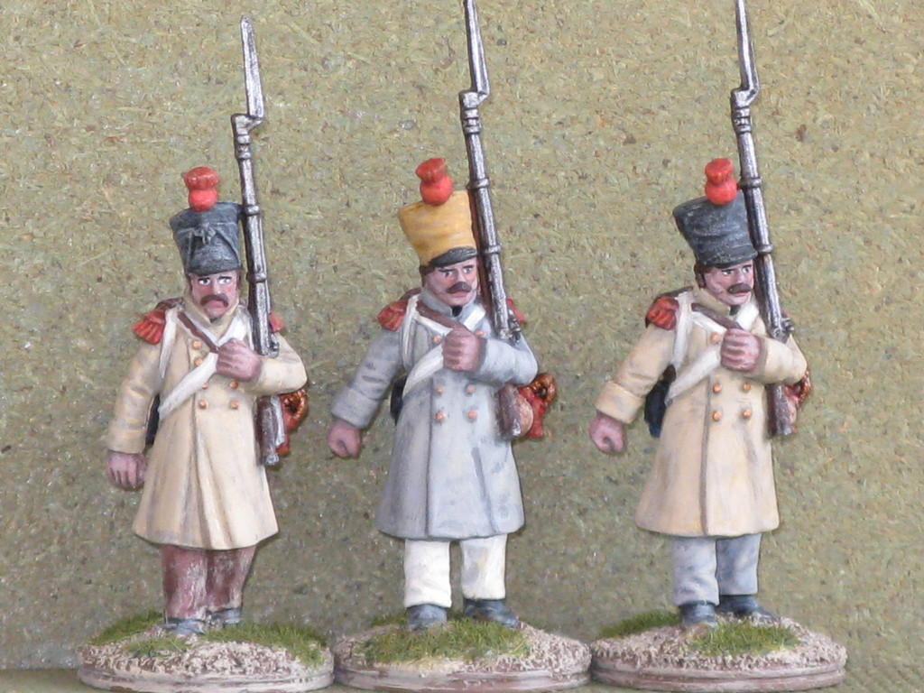 Granatieri - Grenadiers.