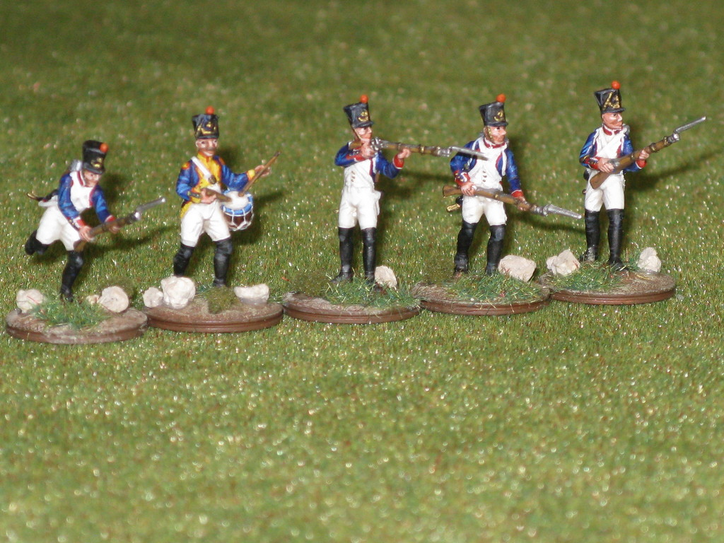 Fanteria di linea francese - French line infantry.