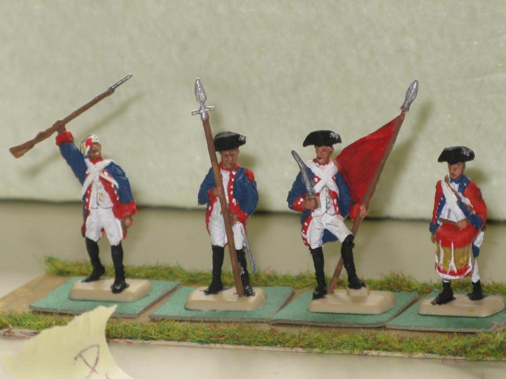 fanteria americana della Guerra d'Indipendenza.