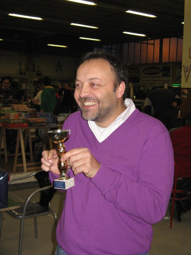 Autopremiazione a classifica torneo: 3° classificato Zammarchi