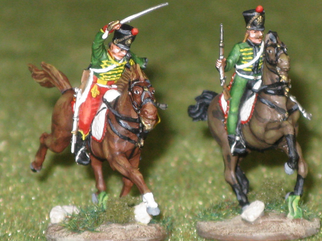 7° Reggimento Ussari francesi - 7th French Hussars Regt.