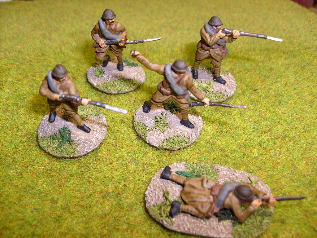 Fanteria francese - French infantry (Revell)