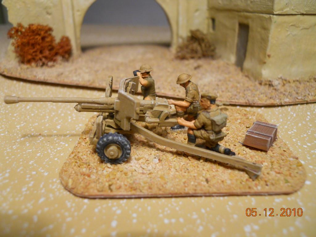 cannone C.C. da 6 libbre - 6 pound A.T. gun