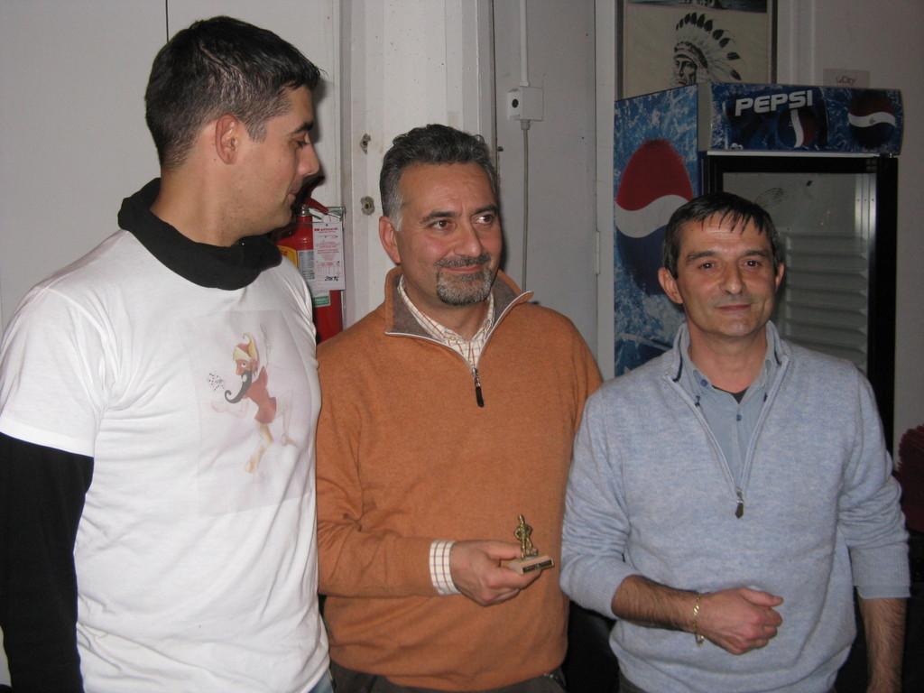 Terzo classificato: Alessandro Salini