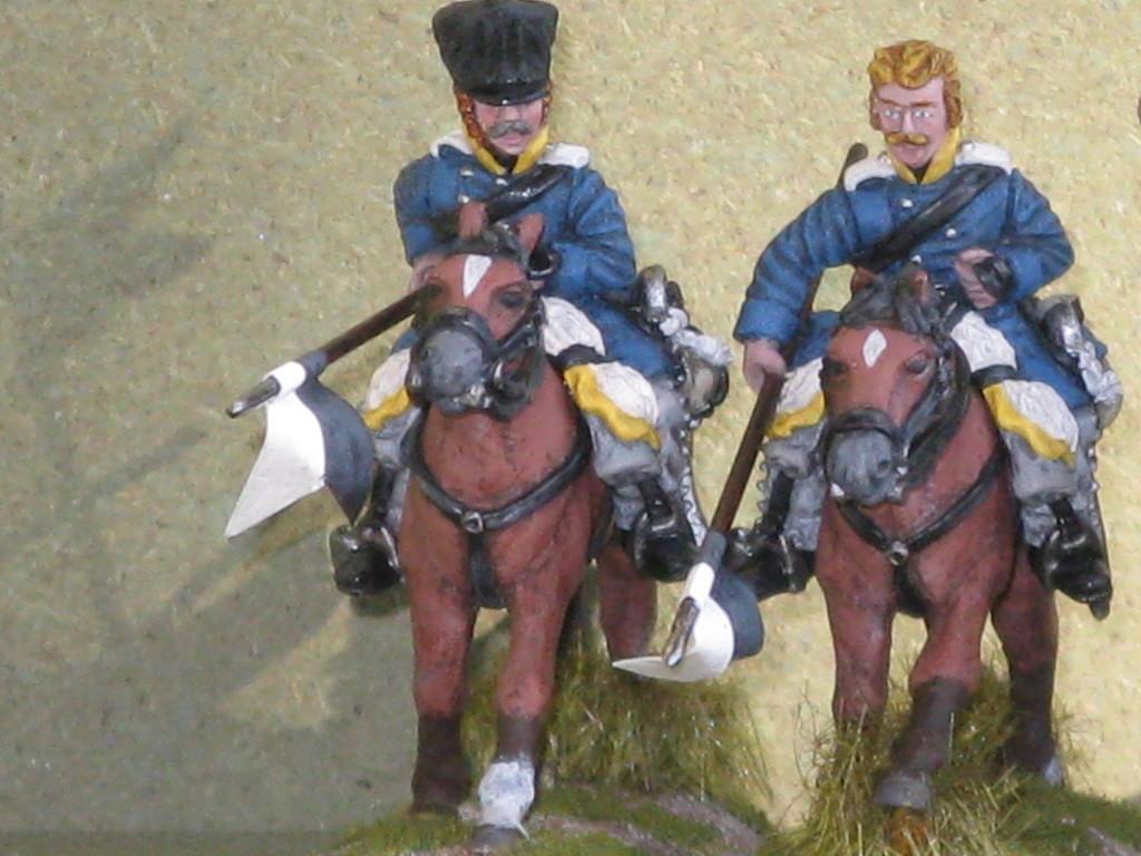 Silesian Landwehr Cavalry.