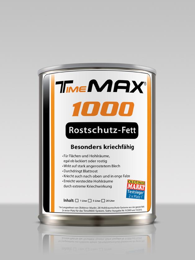 TimeMAX Konservierungen