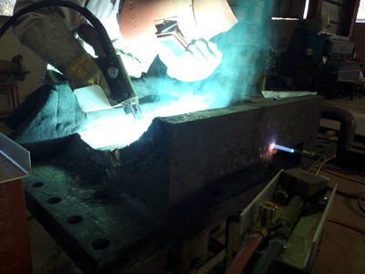 銅の溶接加工も引き受けます!