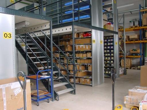 Lagerbühne (Stahl-Bühne) - zu kaufen bei lagerconsulting.at
