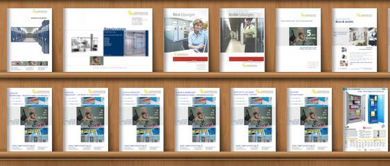 Regale, Einrichtung & mehr: Kataloge als PDF online lesen.