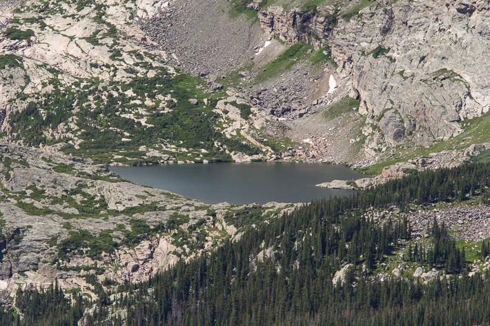 Einer der zahlreichen Bergseen am Mount Ida (3926 m)