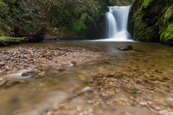 Wasserfall im Nordschwarzwald