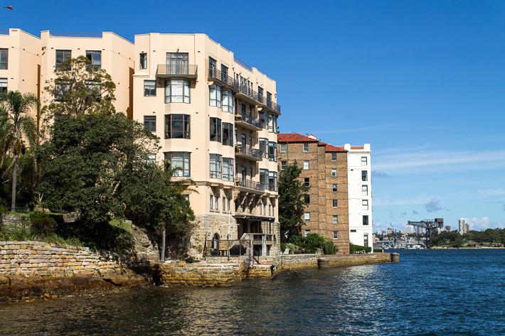 Unsere Traumwohnungen direkt am Wasser - mit viel Geld auf der hohen Kante würde ich mich hier einquartieren! ;-)