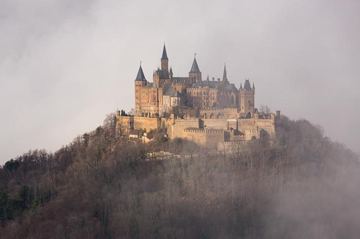 Teilweise umhüllte der Nebel die komplette Burganlage - dies führte zu faszinierenden Fotos.