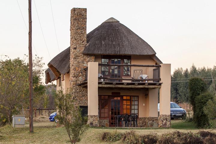 Unser eigenes Cottage (Ardmore Gästefarm): Zwei Stockwerke!