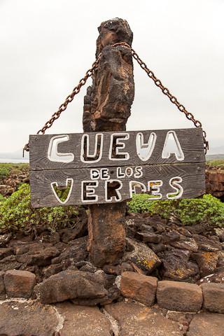 Die Cueva de los Verdes ist eine Lavaröhre.