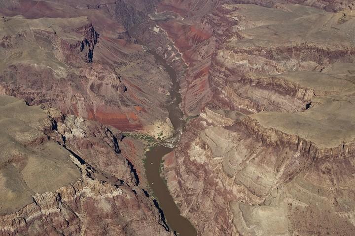 Der Colorado im Grand Canyon