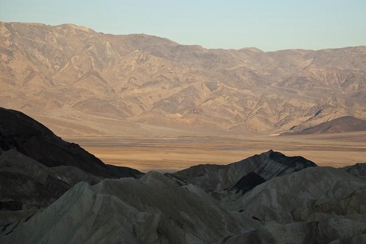 Blick vom Zabriskie Point ins Death Valley.