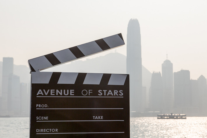 Avenue of Stars in Hongkong