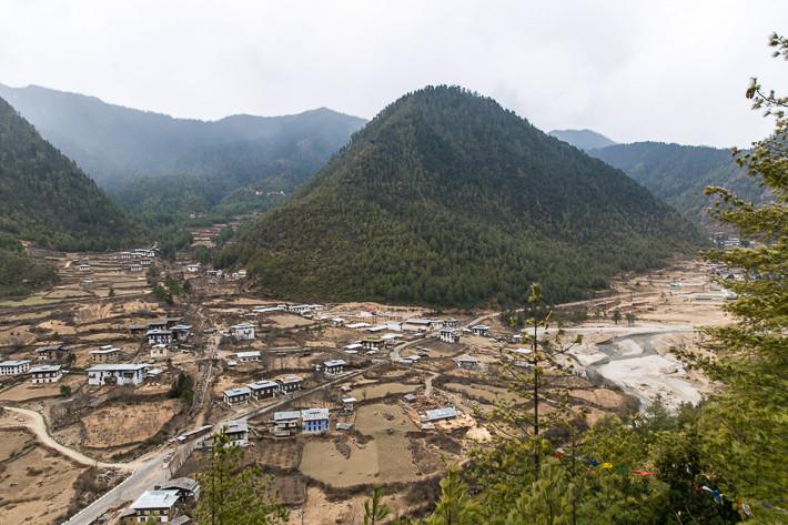 Einer der drei heiligen Berge im Haa-Tal.