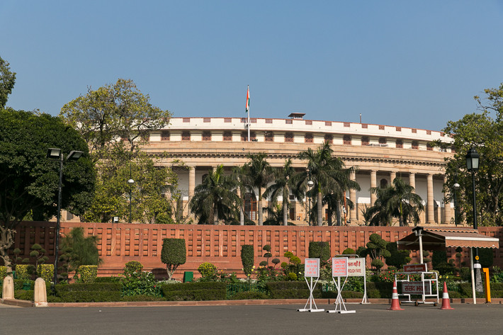 Sansad Bhavan (Parlamentsgebäude)