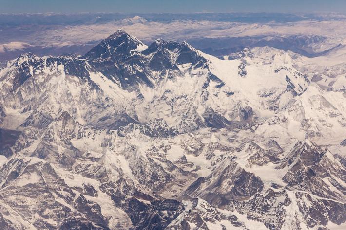 Rückflug: Mount Everst