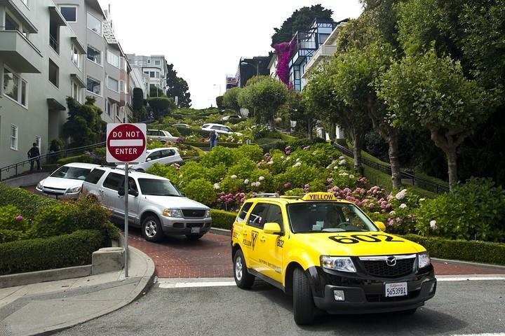 """""""Kurvenreichste Straße der Welt"""": Die Lombard Street"""
