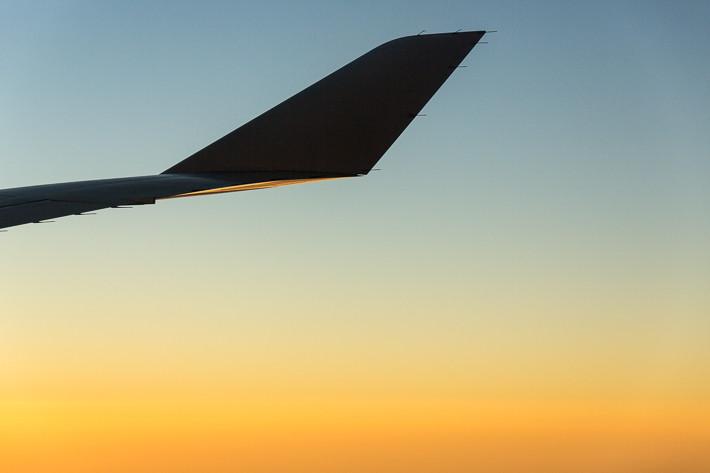 Durch die große Entfernung nach Australien und die Zeitverschiebung hatten wir während des Hinflugs insgesamt zwei Nächte (Mittwoch Abend bis Freitag Vormittag) im Flugzeug - immer wieder haben wir faszinierende Ausblicke genossen.