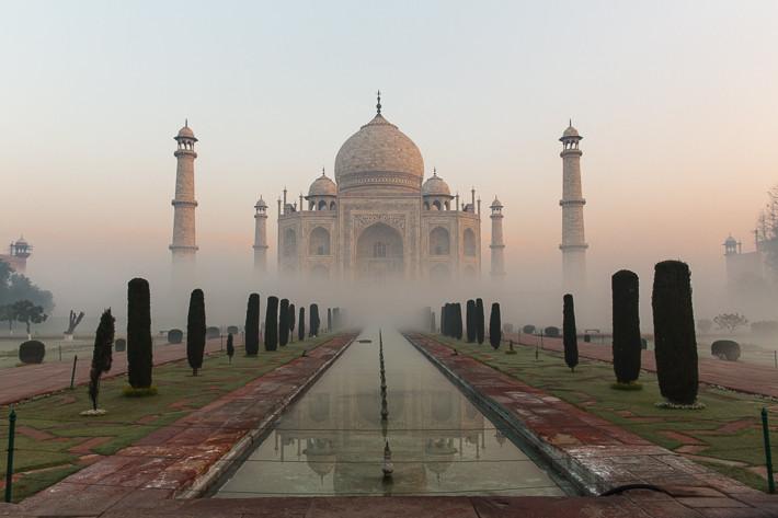 Taj Mahal (Agra, Indien)