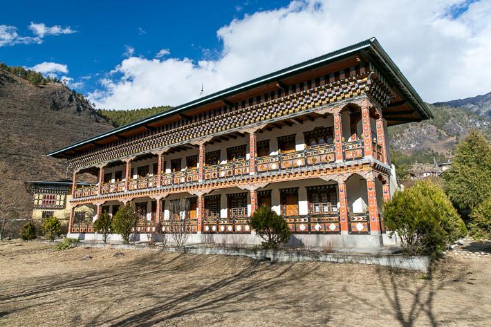 Unser Hotel im Haa-Tal
