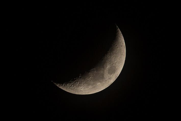 Mond vom 23.02.2015