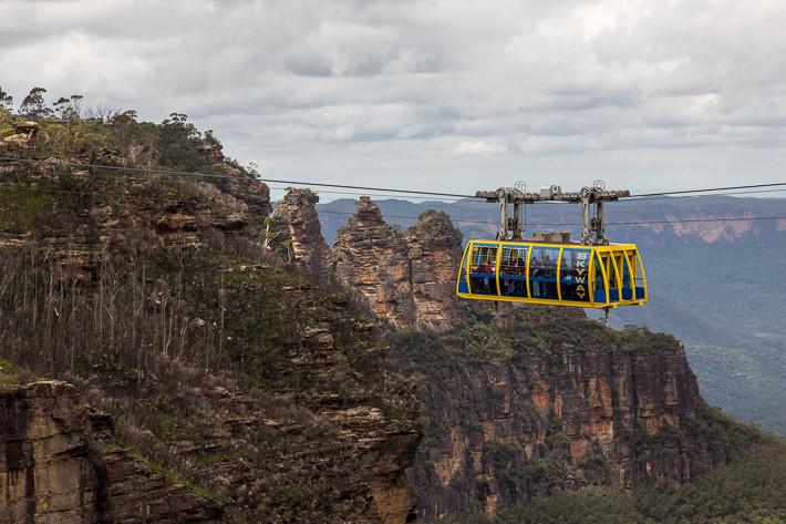 """Die Aussichtsgondel """"Scenic Skyway"""" in 270m Höhe."""