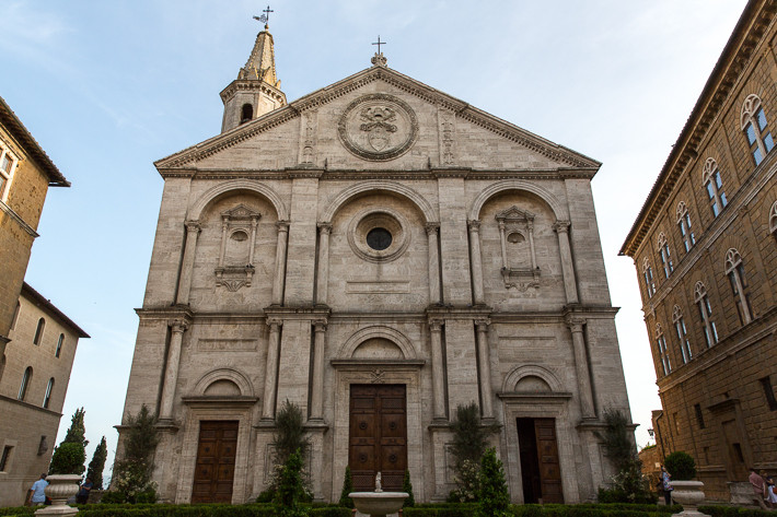 "Renaissance-Fassade des Doms ""Santa Maria Assunta"""