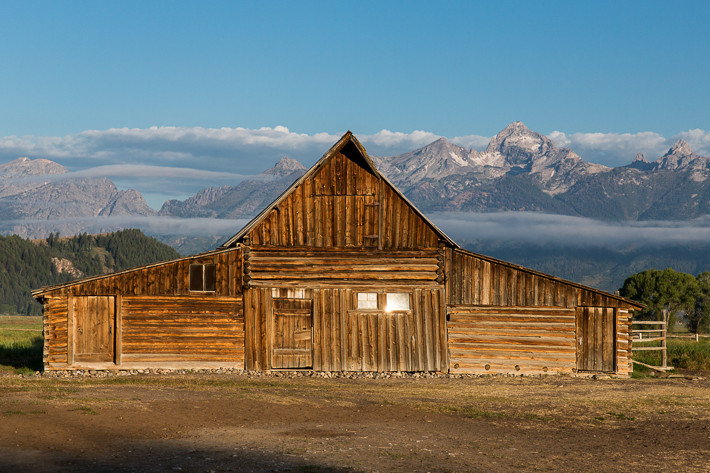 """Tom Moulton's Barn on Mormon Row"""