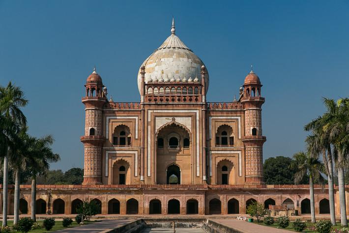 Safdarjung-Mausoleum (Delhi, Indien)
